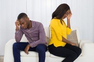 Childless black couple