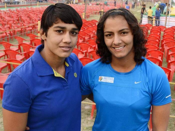 Geeta and Babita Phogat