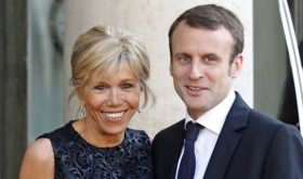French presidential candidate Emmanuel Macron says his love for his wife is greater than his desire to become a father