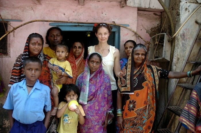 Ashley Judd humanitarian work