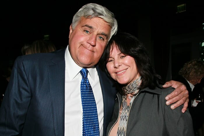 Jay Leno and his wife