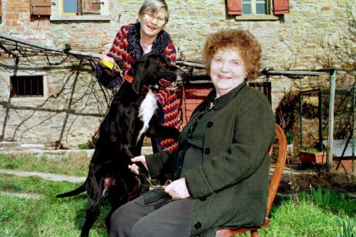 Muriel Spark and Penelope Jardine