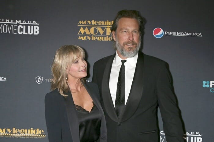 Bo Derek and John Corbett