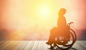 Severely disabled childless woman remains positive about life and determined to live it to the fullest