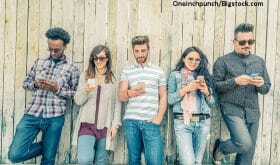 The obsession with mobile phones