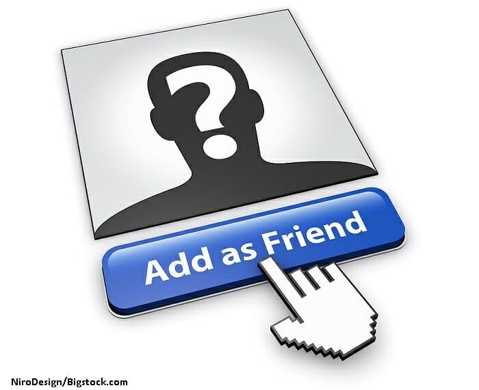 Sosyal medya arkadaşları